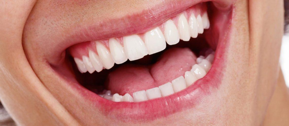 Healthy teeth closeup